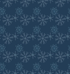 Hand drawn snowflakes seamless winter texture vector