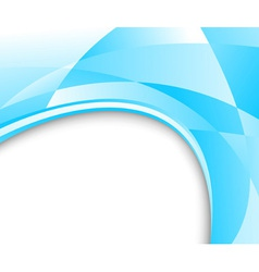 blue glass banner vector image