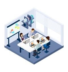 Coworking people vector