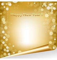 Happy new year composition vector