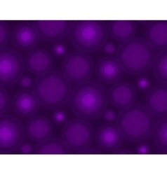 Violet seamless pattern with round shapes vector