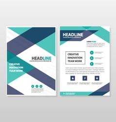 Brochure leaflet flyer book cover templates design vector