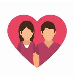 love card design vector image vector image