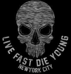 New york riders motorcycle club tee graphic design vector