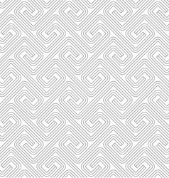Slim gray countered fastened square spirals vector