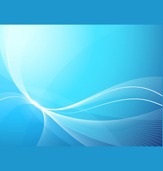 Soft blue background vector