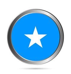 Somalia flag button vector image vector image