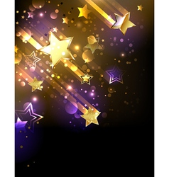 Starfall vector image vector image