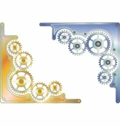 Sprockets corner vector