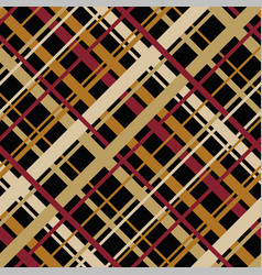 Geometric pattern with diagonal endless stripes vector