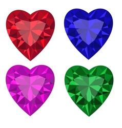 Jewel set3 vector image