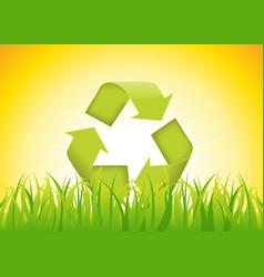 Recyclable symbol vector