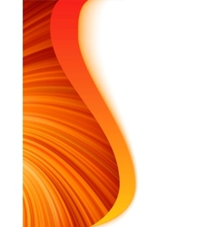 abstract wave burst vector image vector image