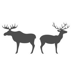 Elk deer vector