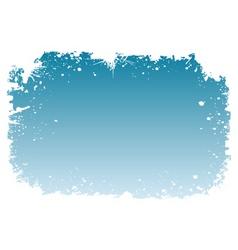 snowy frame vector image