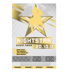 sport event poster polo vector image