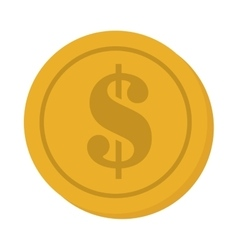 Currency coins money cash design vector