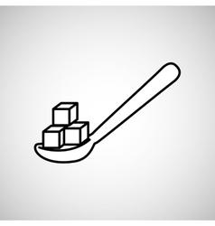 Sugar product design vector