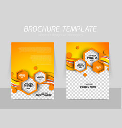 Brochure background vector image