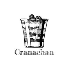 cranachan vector image vector image