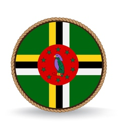 Dominica seal vector