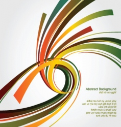 abstract swirl vector image vector image