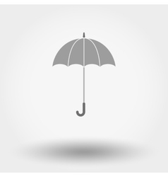 Umbrella flat icon vector image vector image