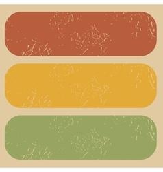 Vintage blank stamp template set vector