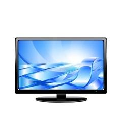 Tv monitor vector