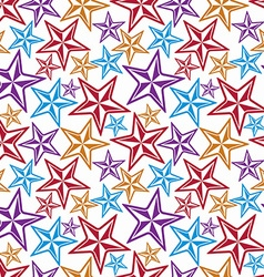 Celebration idea background beautiful stars vector