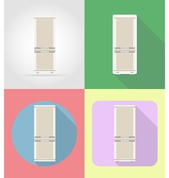 household appliances for kitchen 03 vector image