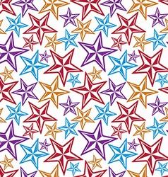 Celebration idea background beautiful stars vector