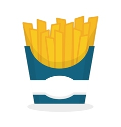 Flat about fast food design vector