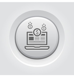 Monetization icon business concept vector