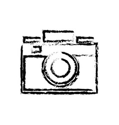 Photo camera flash lens image sketch vector