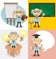 Professor characters vector