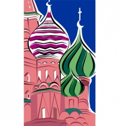 st basil church vector image