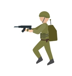 Army soldier vector