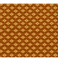 Aztecs seamless pattern on brown colors vector image