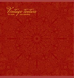 red ornate background for cards vector image