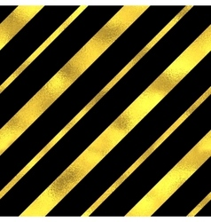 Abstract seamless pattern with gold stripes vector image