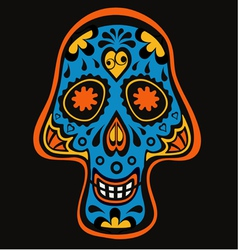 Skull3 vector image