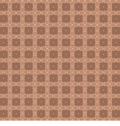 White vintage graphic on brown background vector
