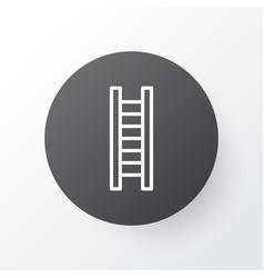 ladder icon symbol premium quality isolated vector image