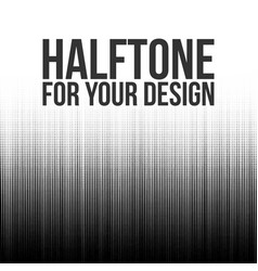 halftone lines abstract background vector image vector image