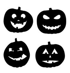 Halloween background with vector
