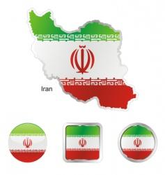 iran vector image