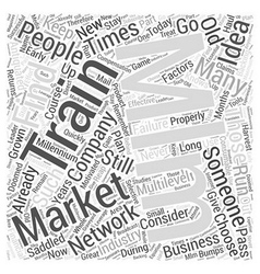 Mlm training word cloud concept vector