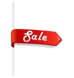 sale arrow vector image vector image