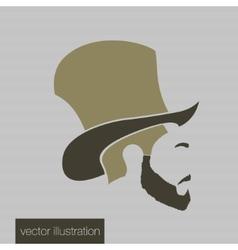 Icon man in a headdress vector